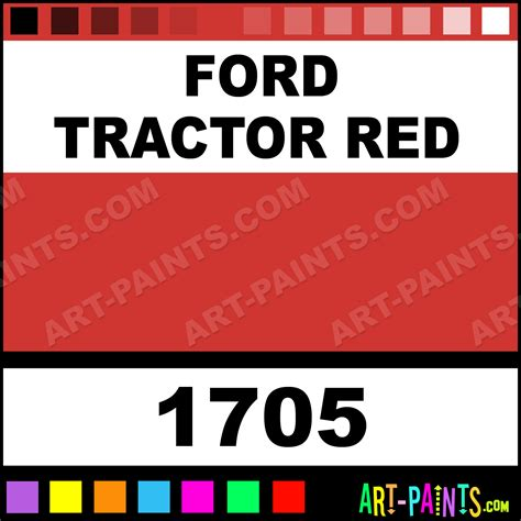 ford tractor acrylic enamel paints 1705 ford tractor paint ford tractor color