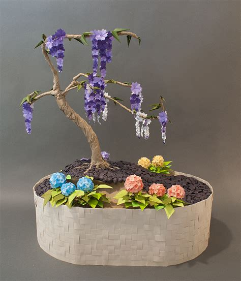 Origami Bonsai - origami bonsai by the elven artisan on deviantart