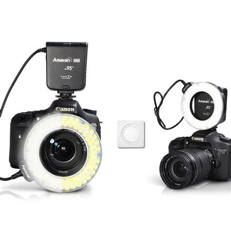 Flash Kamera Nikon D3200 ring blitz flash macro led ringleuchte ringlicht f 252 r nikon