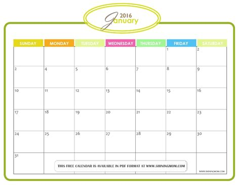printable january 2016 day planner search results for printable jan 2016 calendar