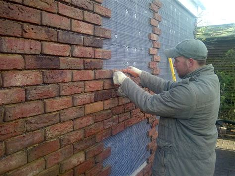 look alike rock plastic siding for shed 11 best images about brick slips on studios