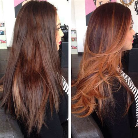 before and after pictures of balayage 25 balayage hair colors blonde brown and caramel