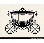 Cinderella Carriage Silhouette Clip Art