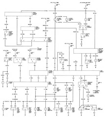 1988 dodge ramcharger wiring diagram
