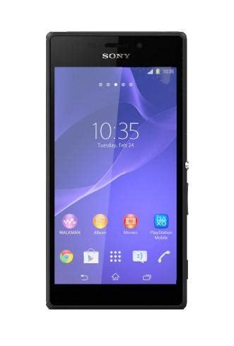 Backdoor Sony Xperia M2 Blackwhite Sony Xperia M2 Black Mono Sim Mobilnionline