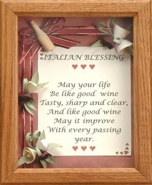 Wedding Blessing In Italian by Italian Quotes Blessings Quotesgram