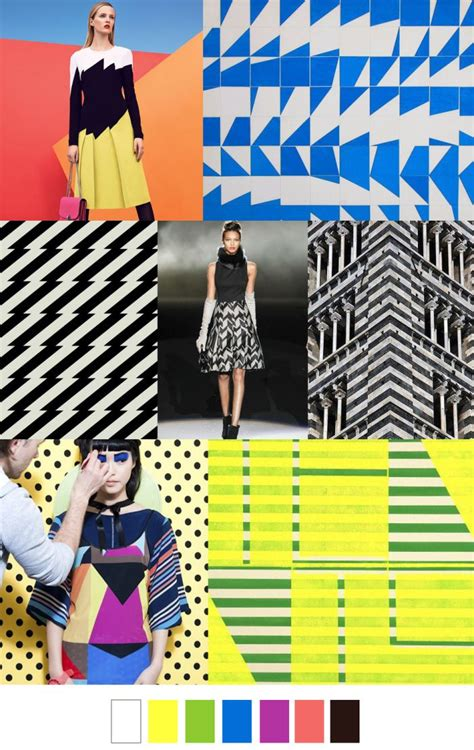 pattern curator com jagged geo trend hunt pinterest
