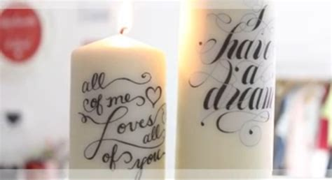 come decorare candele candele come decorarle tutorial