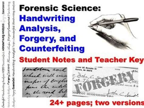 Forensic Handwriting Analysis Worksheet by 124 Best Images About Forensics On