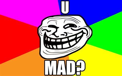 U Mad Meme Face - umad