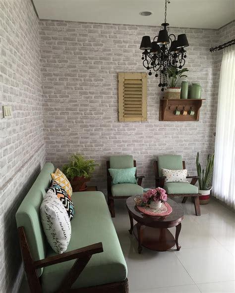 desain ruang tamu vintage klasik ruang tamu minimalis