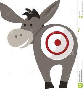 royalty free stock photography donkey target image 58435997
