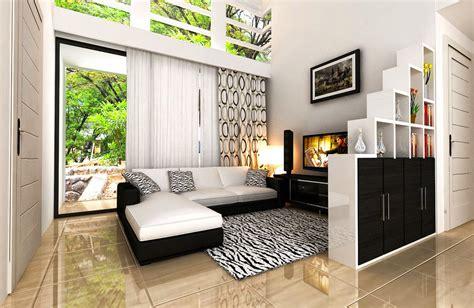 desain ruang tamu sederhana minimalis modern