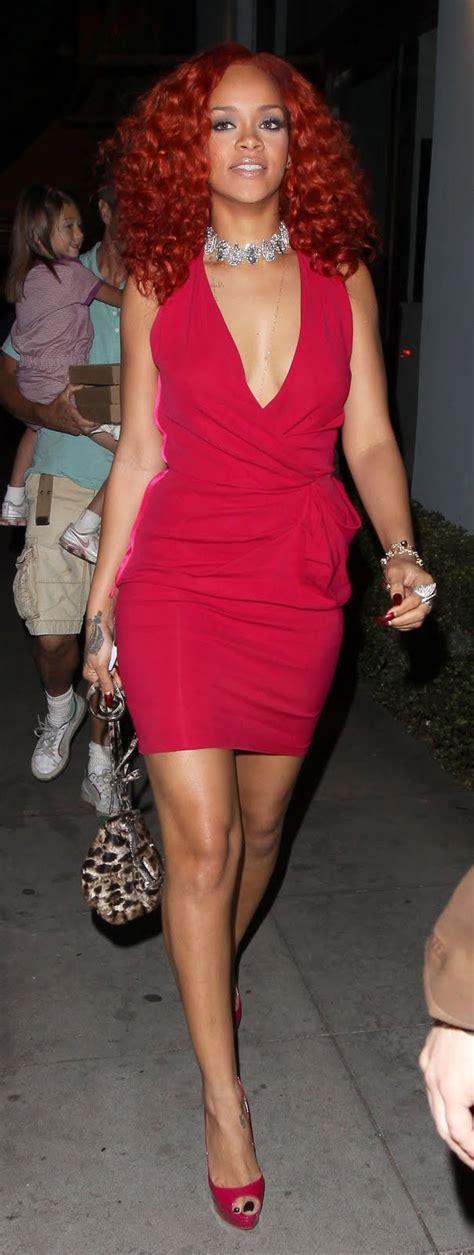 Rihanna At Osteria Mozza Hot Celebs