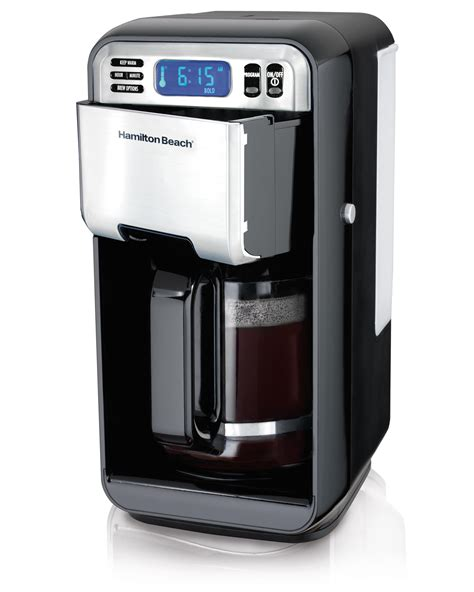 Hamilton Beach 12 CUP Digital Automatic Coffee Maker Stainless Steel 46201 40094462018   eBay