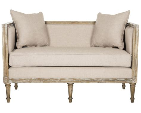 french country settee safavieh leandra french country settee ebay
