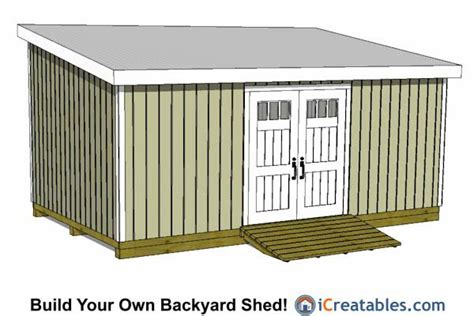12x20 Storage Shed by 12x20 Lean To Shed Plans 12x20 Shed Plans