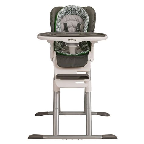 high chair position graco 1922220 swiviseat multi position baby high chair in