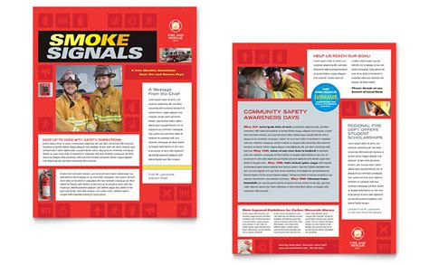safety bulletin template safety newsletter template word publisher