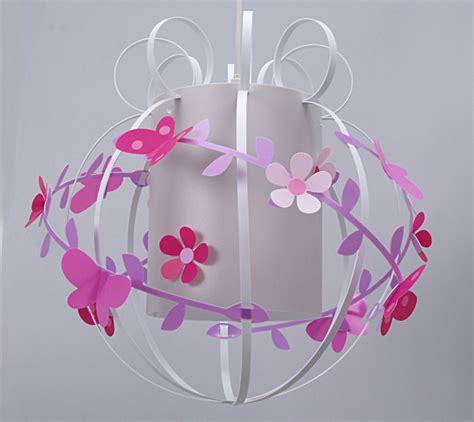 abat jour chambre fille suspension chambre fille fleurs de cerisier