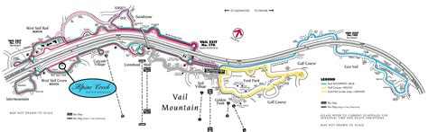 map of vail colorado alpine creek bed and breakfast vail colorado
