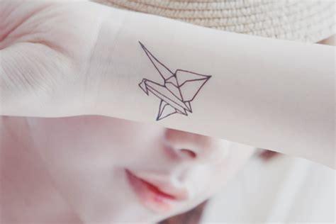 tattoo paper singapore origami tattoo on tumblr