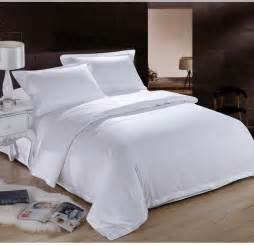 Bed Sheets King Size Cotton White Hotel Home Textile 100 Cotton Bedding Set