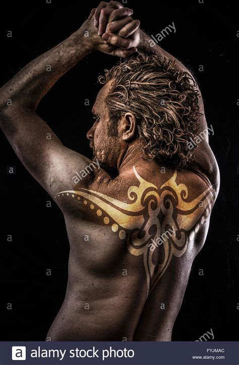 fallen angel tribal tattoo spain tribal stock photos spain tribal stock images alamy