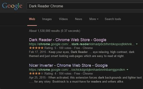 themes in reading in the dark dark reader chrome web store