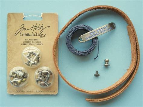 Drawstring Gather Cuff how to make leather bracelets two finishing methods
