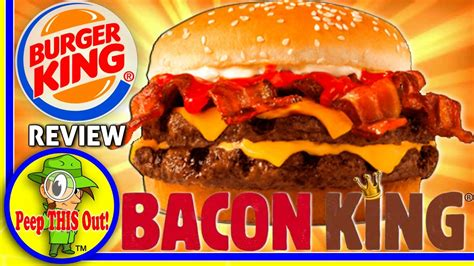 B1 Ume burger king 174 bacon king 174 sandwich review peep this out