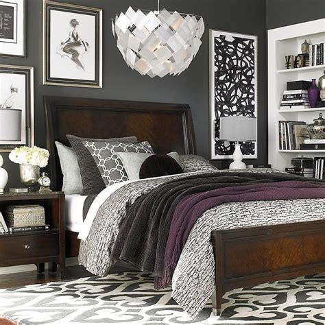 classic silver bedroom bedroom colors grey purple living 25 best ideas about dark wood bedroom on pinterest grey