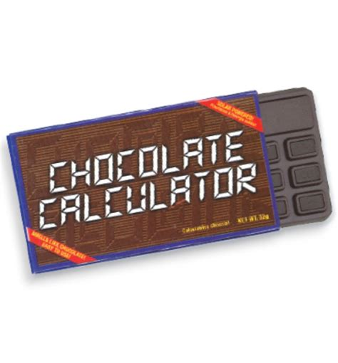 chocolate calculator product chocolate calculator f11 school essentials