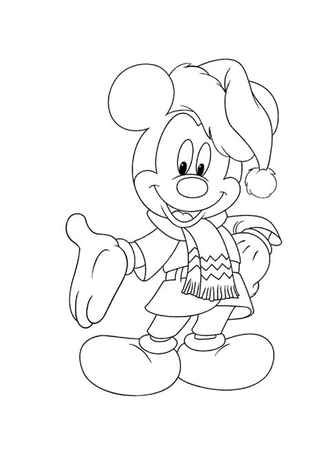 free coloring pages mickey mouse christmas mickey mouse christmas coloring pages free print