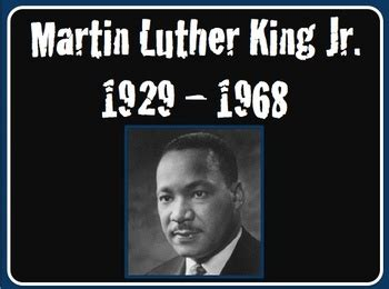 Martin Luther King Jr Quot I Have A Dream Quot Power Point Lesson Powerpoint Martin Luther King