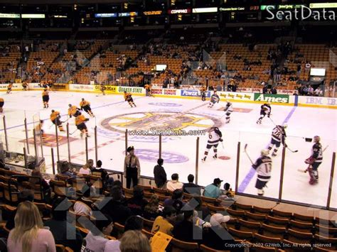 td garden section 139 seat view club level