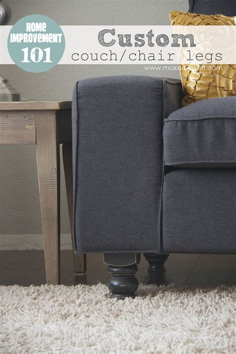 kivik sofa legs home improvement custom couch or arm chair legs make