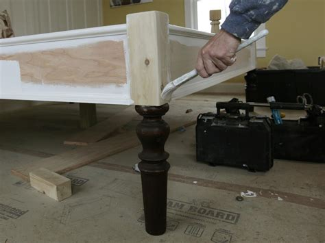 diy headboard attached to bed frame how to build a bed frame how tos diy