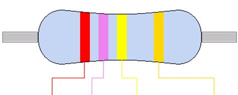 270k 270k ohm resistor colour code