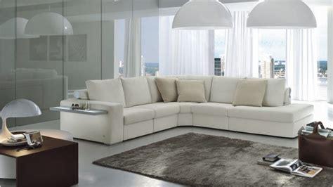 salotti arredati divano angolare moderno atlante di doimo bcasa