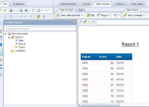 sap bo webi sle reports sap business objects webi sap hana tutorial