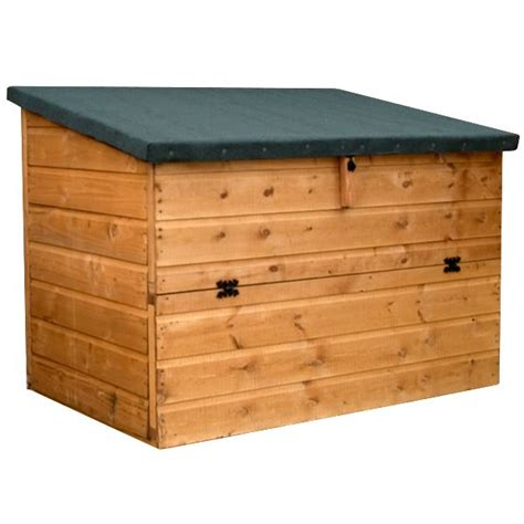 Wooden Garden Storage 4 X 3 Waltons Wooden Garden Storage Chest
