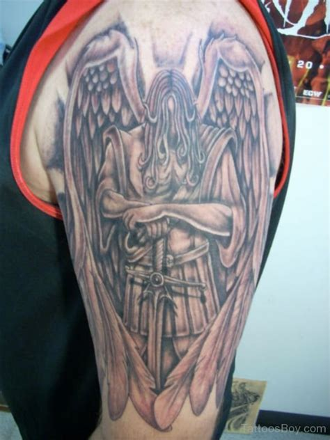 angel gabriel tattoo guardian tattoos designs pictures