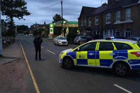 dead outside petrol station in chelmsford essex