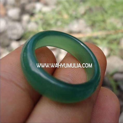Cincin Ijo Garut Chroom Chalcedony batu cincin green chryssoprase kode 187 wahyu mulia