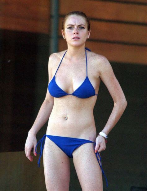 Get The Look Lindsay Lohans Bahama Bikinis by 258 Best Lindsay Lohan Images On Looking