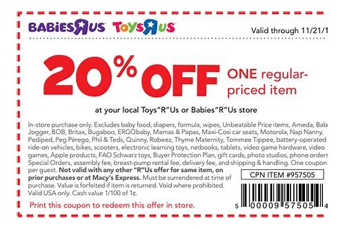 coupons for toys r us 20 off