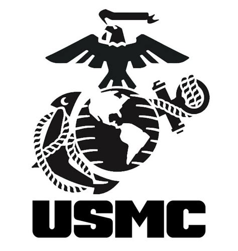 marine decal us marine decal military by