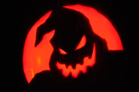 zero nightmare before christmas pumpkin pattern the clements carving pumpkins