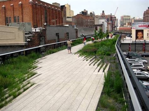 Landscape Architect Highline New York S High Line Park To In Size By Next